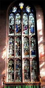 Wade Dalton window at St Mary's church, Nottingham.