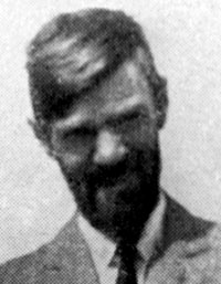 D H Lawrence in the mid-1920s.
