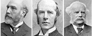 NCOS Committe members: Alderman Brownsword, Mr Ernest W Enfield and Mr E Goldschmidt