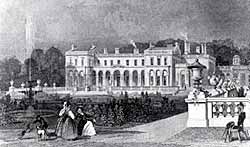 Clumber House in the 1830s.