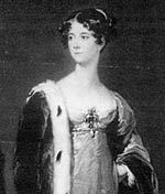 Georgiana, 4th Duchess of Newcastle.