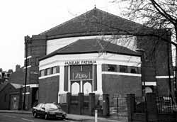 The former Apollo cinema has been converted into a mosque.