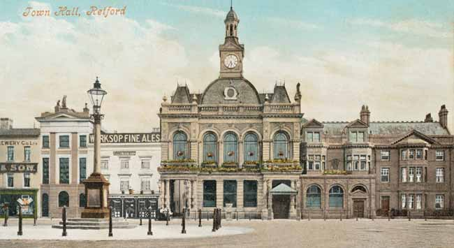 Retford Town Hall in 190