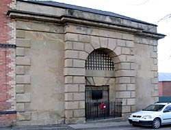 Gateway to the House of Correction.