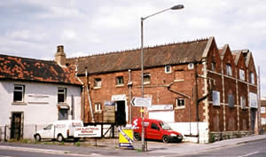 Former malthouse in Worksop (photograph courtesy of Jane Sumpter).