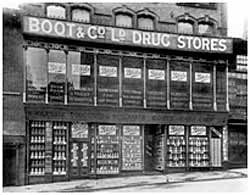 The First store acquired by Jesse Boot, 16-20 Goose Gate, 1886 (CAIS 524)
