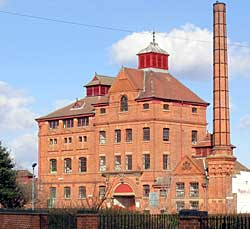 Prince of Wales Brewery, Old Basford, Nottingham.
