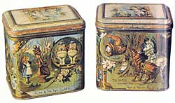 Alice in Wonderland tin box (image courtesy of CSP).