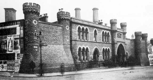 The House of Correction, Nottingham in the later 19th century.